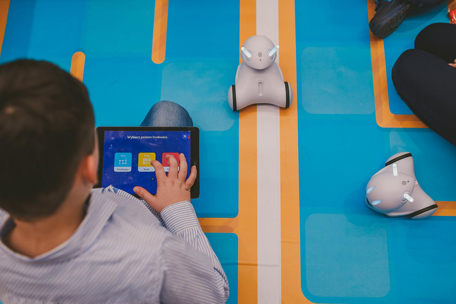 Kit 8 robot Photon + 1 Magic Dongle + 1 tappetino educativo