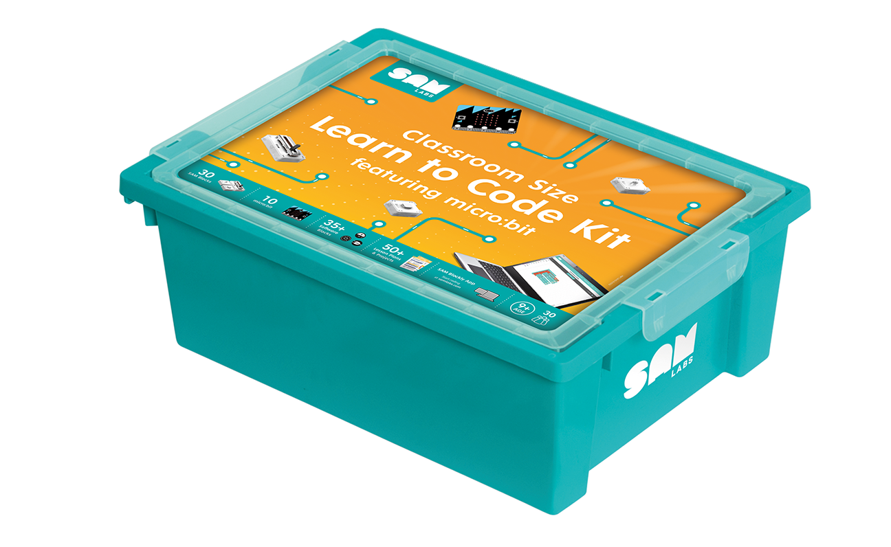 SAM Labs Learn to Code Course kit Classroom size